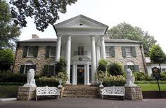 Graceland, Elvis Presley's home in Memphis, Tenn.,