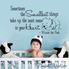 "$35.00 - SO cute for a nursery... i have dominic's footprints on my hip, and plan on getting my future child[ren]'s footprints ""walking"" up my side as well, and then this quote at the top of my ribs next to my heart <3"