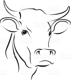 46 Best cow drawing easy images in 2017 | Cow, Cow art, Drawings