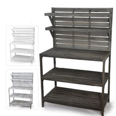 Wooden Shelf Retail Display