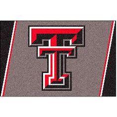 Fanmats Texas Tech Red Raiders Rug 5x8
