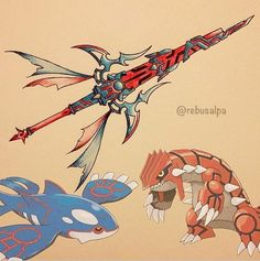 Artist Rico Busalpa Dazzles with Pokemon Weapons