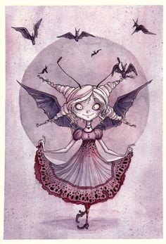 Little Batty Princess by Annie Rodrigue