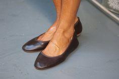 #bailarinas marrón chocolate.