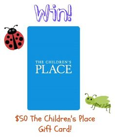 Win $50 The Children's Place Gift Card! (sponsored) giveaway ends 9/2 from Must Have Mom! http://musthavemom.com/2013/08/the-childrens-place-keeps-my-kids-dressed-their-best-for-less-giveaway.html#comment-393249