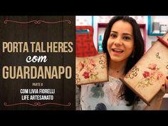 Porta Talheres com Guardanapo | Mulher.com Parte II - YouTube