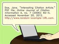 Pesquisa Formas de citar um artigo online. Vistas 64834.