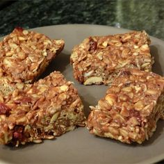 """Gluten-Free Granola Bars   """"So yummy! To make these a little healthier, I subbed agave nectar for the corn syrup and brown rice cereal instead of regular rice cereal. Will be making these again!"""""""