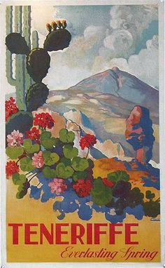 Tenerife, Canary Islands, Spain, 1950, J.Davo