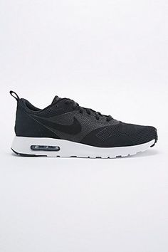 Nike Air Max Tavas SE Trainers in Black and White - Urban Outfitters