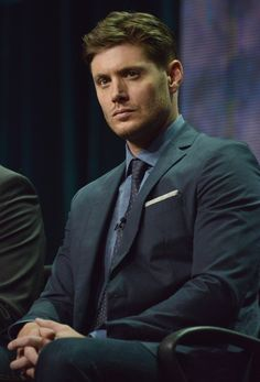 "Jensen Ackles speaks on stage during the ""Supernatural"" panel at the The CW 2014 Summer TC...... *dead*"