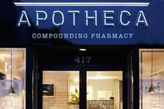 Apotheca Full branding package for Apotheca - a modern, full-service pharmacy complete with a compounding lab. The pharmacy is complete with a curated collection of personal care and wellness products.