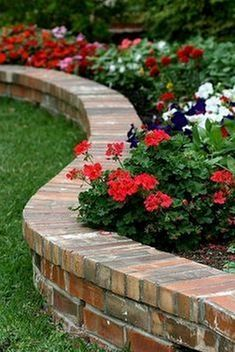 Bed Edging IdeaBrick Flower Bed Edging Idea How to Design and Install a Paver Walkway The post How to Design and Install a Paver Walkway appeared first on Terrasse ideen. How to Build a Brick Garden Wall Brick Garden Edging, Yard Edging, Garden Borders, Garden Edge Border, Brick Landscape Edging, Flower Bed Borders, Raised Flower Beds, Raised Beds, Landscaping Retaining Walls