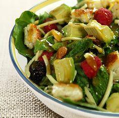 Avocado and Orange Chopped Salad with Orange Honey Mustard Dressing - Creative Culinary - Food & Cocktail Recipes - Denver, Colorado