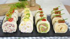 Rollitos de canapés con pan de molde para Navidad ¡4 ideas de aperitivo fáciles!   Cuuking! Recetas de cocina