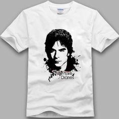 Summer-persoanlity-causal-all-match-t-shirt-the-vampire-diaries-t-shirt-damon-men-and-women1
