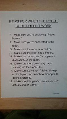 Robotics Club, Robotics Engineering, First Robotics Competition, Nerd Memes, Haha Funny, Robots, Programming, Coding, Random