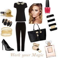 Going to work has never been so glamorous Magic, Shoe Bag, Polyvore, Stuff To Buy, Accessories, Shopping, Shoes, Design, Women
