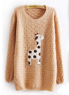 Lovely dots giraffe sweater - I need this NOWWW