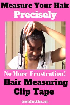 Find out more about how you can get this hair measuring clip tape that makes it easier for you to measure your hair without both hands. PREORDER LAUNCH GOING ON NOW!!