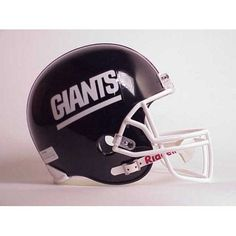 New York Giants Official MLB Deluxe Replica Helmet by Riddell 987422