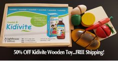Kidivite is giving 50% of these Wooden Cooking toys! Yes, each worth over R250! - You get your FREE Shipping today. Claim yours today before Stocks run out!