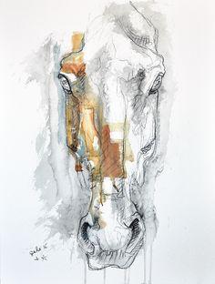 Peinture d'art cheval, Horse Art Painting