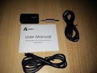 Produkttests und mehr: Aukey® Tragbare Drahtlos Bluetooth Empfänger Audio...