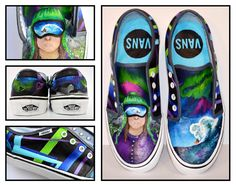 Our action sport shoe for the Vans Custom Culture Contest!