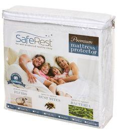 Queen Size SafeRest Premium Hypoallergenic Waterproof Mattre $33.95