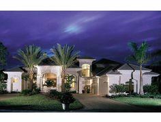 Eplans Mediterranean House Plan - Mediterranean Flavor - 5816 Square Feet and 5 Bedrooms from Eplans - House Plan Code HWEPL11747