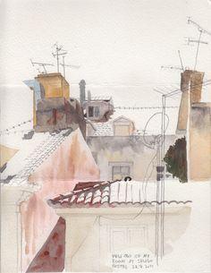 Oona Leganovic - Lisbon sketch
