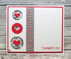 Luv 2 Scrap n' Make Cards, The Stamps of Life, Kendra Sand, Valentine's Day Handmade Card