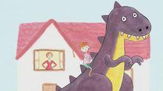 Liedje over een dinosaurus als huisdier. Is dat wel handig? Zing je mee?