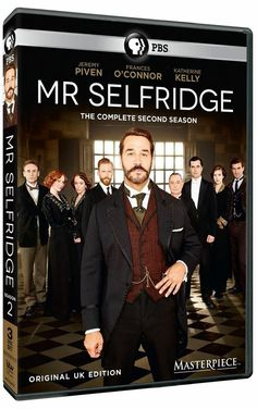 MR. SELFRIDGE SEASON 2.  http://highlandpark.bibliocommons.com/search?t=smart&search_category=keyword&q=SELFRIDGE&commit=Search&formats=DVD