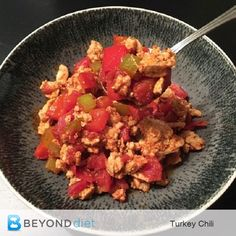 Turkey Chili – What are YOU having for dinner?