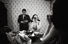 Kubrick with showgirl Rosemary Williams, 1949