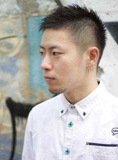メンズ 王道シンプルショート ボウズ <たまご型顔向きヘア>