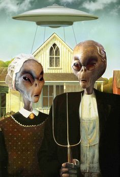 UFO: Alien Gothic...revisiting the classical art.