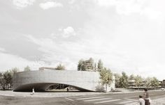 SETÚBAL PUBLIC LIBRARY ENTRY BY AND-RÉ