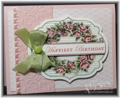 pinterest stampin up ideas | Stampin up Antique looking card