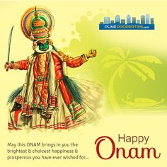 May the color and lights of Onam fill your home with happiness and joy. On this festival occasion of Onam, We wish everyone a very Happy & Prosperous Onam. #HappyOnam #PuneProperties