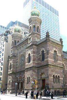 Central Synagogue - Must See Architecture in New York City - Artsnapper