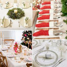 5 Verschillende stijlen voor een sfeervolle tafel voor het kerstdiner