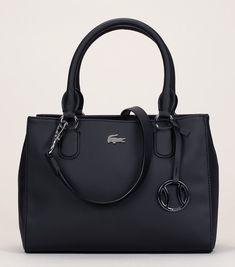 74fc52bb60 Mini cabas texturé noir Lacoste porte-clés fantaisie. Chaussure Lacoste  FemmeSac ...