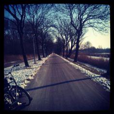 Cycling around amsterdam
