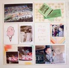 little lamm & co: Project Life 2014 │ Week 14 - CIrcus!!!