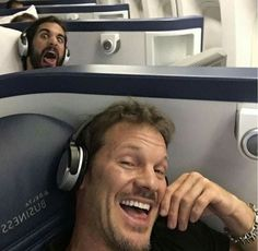 Seth Rollins & Chris Jericho. Seth and those faces of his xD