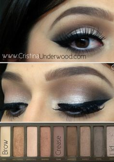 Urban Decay Naked Palette 2 look.