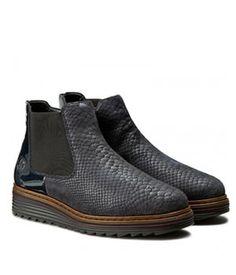 Botine Dama Fara Toc Piele Croco Rieker Chelsea Boots, Shoes, Fashion, Moda, Zapatos, Shoes Outlet, Fashion Styles, Shoe, Footwear